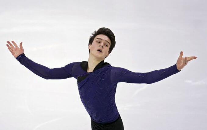 ロシアフィギュアスケート選手権 男子SP 首位はマカール・イグナトフ!