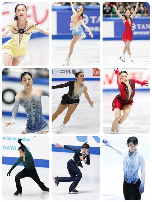 衣装デザイナー伊藤聡美さんが全日本に出場した選手たちの写真を載せてくれてる! …全日本を見ていて素敵なだな~と思った衣装はやはり全部伊藤さんの作品でしたか…