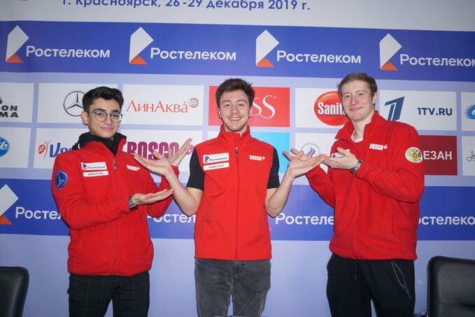 ロシアフィギュアスケート選手権2019、男子シングル ドミトリー・アリエフ が 初優勝!