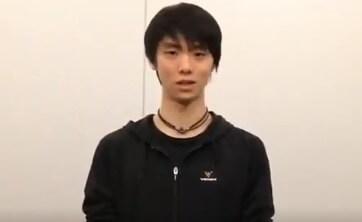 【映像あり】NHK杯を獲得した、羽生結弦からのメッセージ動画 が Weibo に公開!