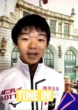 【映像あり】将来のエース候補…フィギュア男子16歳・鍵山優真、親子鷹で初V
