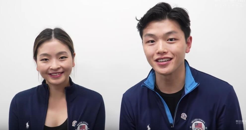 【映像あり】アメリカ大使館  11/14 横浜でスケート教室を行ったアイスダンスのオリンピックメダリスト、シブタニ兄妹からのメッセージを公開!