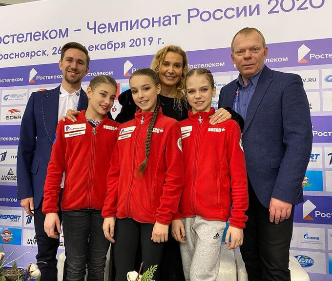 【映像あり】15歳 アンナ・シェルバコワ 異次元V、アリョーナ・コストルナヤ 超えた! ロシアフィギアスケート選手権2019 女子シングル