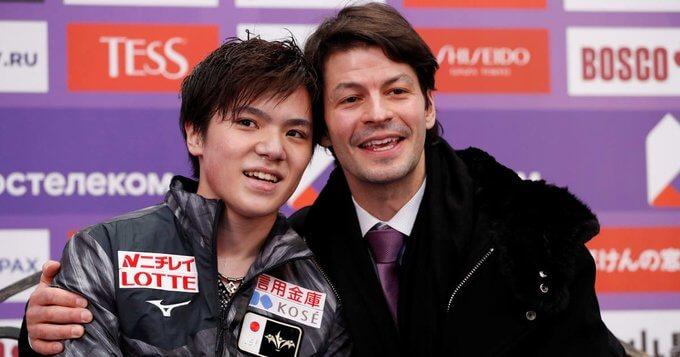 【映像あり】宇野昌磨 のコーチに就任した ステファン・ランビエル氏 に Olympic Channel が注目!