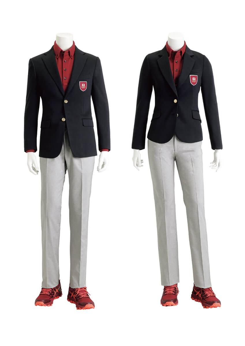 第3回ユースオリンピック冬季競技大会 日本代表選手団公式服装が公開、AOKIさん かっこいい服 作りましたね!