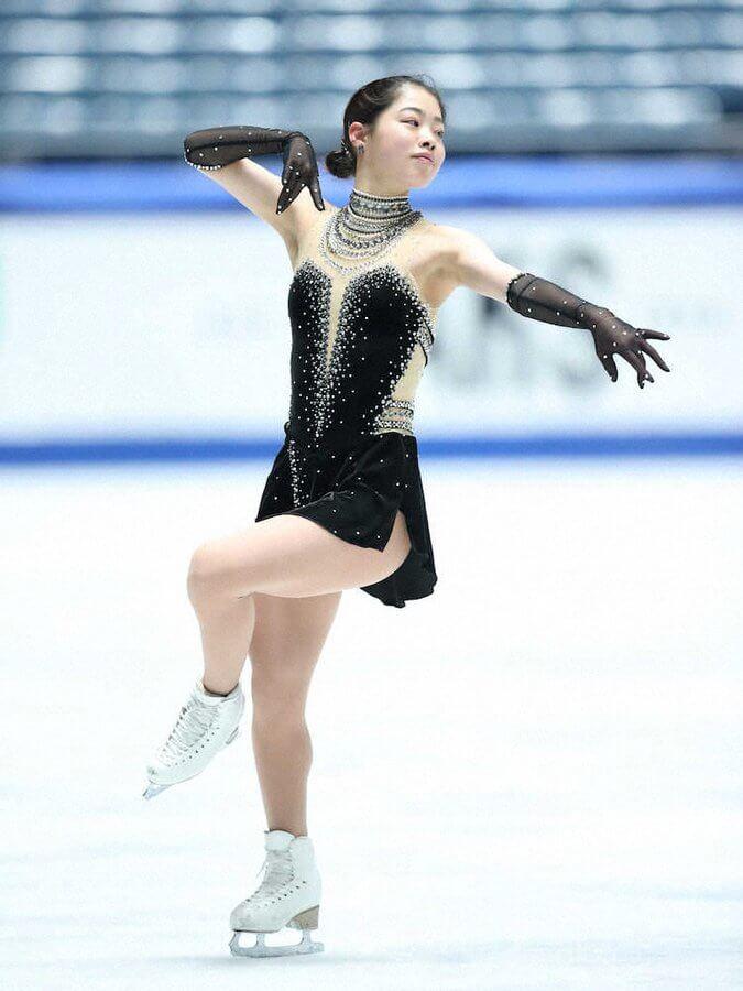 日本学生氷上競技選手権 横井ゆは菜 が初優勝! SP3位からフリーで逆転。 坂本花織2位、樋口新葉は5位。