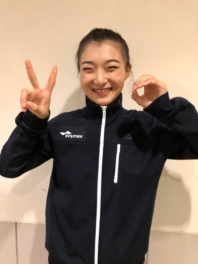 日本学生氷上競技選手権 女子ショートSP 坂本花織がこん身の首位、樋口新葉は2位スタート、坂本花織 復活なるか!?