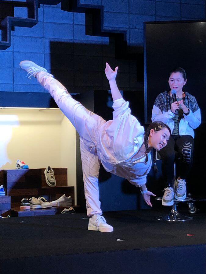 樋口新葉 がPUMAのイベントに登場! 今年のテーマは「決」。注目競技は「競泳」で「池江璃花子選手。理由は!?