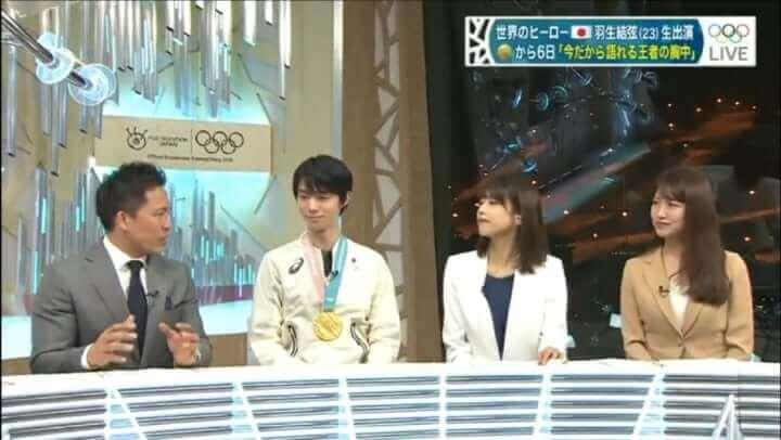 羽生結弦って ほんと小顔! …この金メダルが大きく見えるのはそのせいか!w…