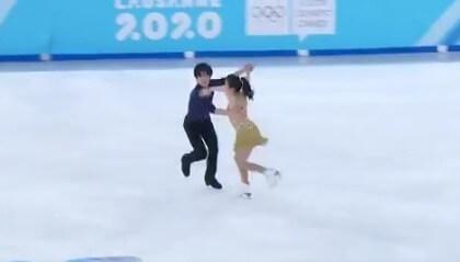 【映像あり】ローザンヌ2020 ユースオリンピック リズムダンスの 吉田・西山組 は6位!