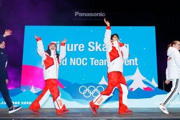 吉田唄菜・西山真瑚組 ユースオリンピック NOC混合表彰式の写真がアップ!