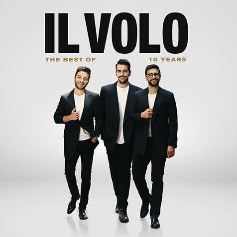 【映像有】『ベスト・オブ・イル・ヴォーロ』 イタリアの人気ヴォーカル・トリオのオールタイム・ベスト !  …日本盤にはフィギュアスケートの羽生結弦選手の使用曲でもある《ノッテ・ステラータ》他も収録されている…