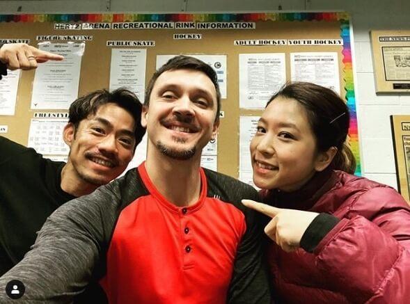 マキシム・トランコフさん、高橋大輔・村元哉中との3ショット写真を公開!  …ダイスケはスーパースター、彼のアイスダンスの進歩は信じられないくらいだ!…