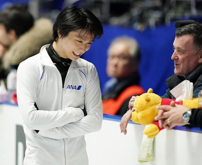 ブライアン・オーサー、羽生選手への思い!  …「結弦には『僕のスケートは美しい』と伝え続けてほしい」…