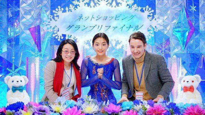 川口春奈 がフィギュアスケート選手に!?  …『Qoo10』新WEB動画「ネットショッピンググランプリファイナル」篇が公開…