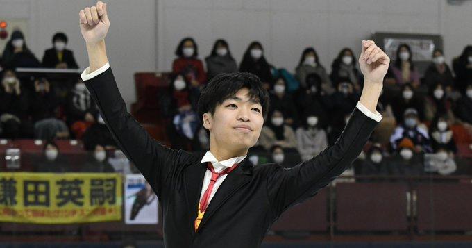 岩手大大学院・佐藤洸彬、「盛岡の星」!  …フィギュアスケートと数学で追い求めた美しさ…