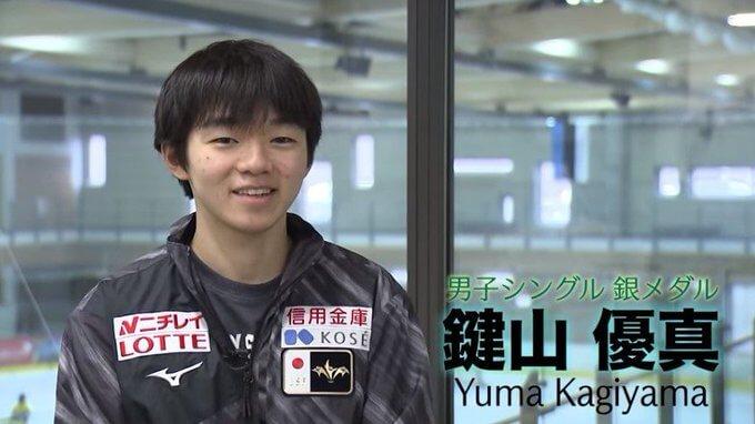 【映像有】鍵山優真、インタビュー!  …世界ジュニア2020 銀メダル…