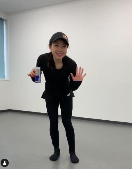 【映像有】紀平梨花、お家でも出来るエクササイズ動画とメッセージを投稿!  …今できることを全力で…健康第一、安全第一。…