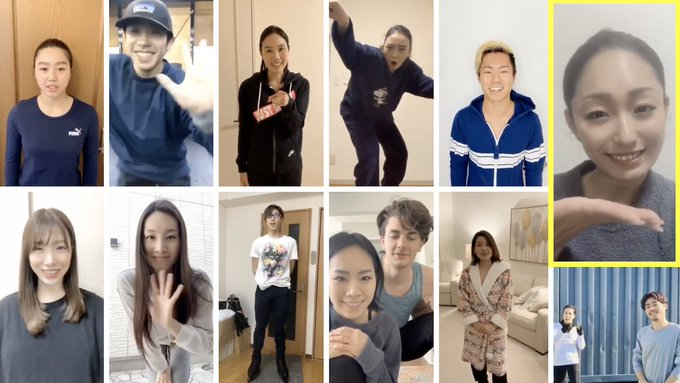 【映像有】日本のフィギュアスケーターからのメッセージ!  …Message from Team Japan Figure Skating Family …