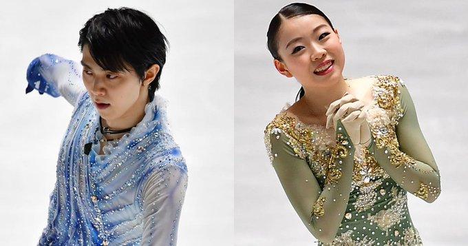 World standings…Standing as of 20.04.2020!  …男子 rank 1 point 3786 羽生結弦、女子 rank 1 point 4171 紀平梨花…