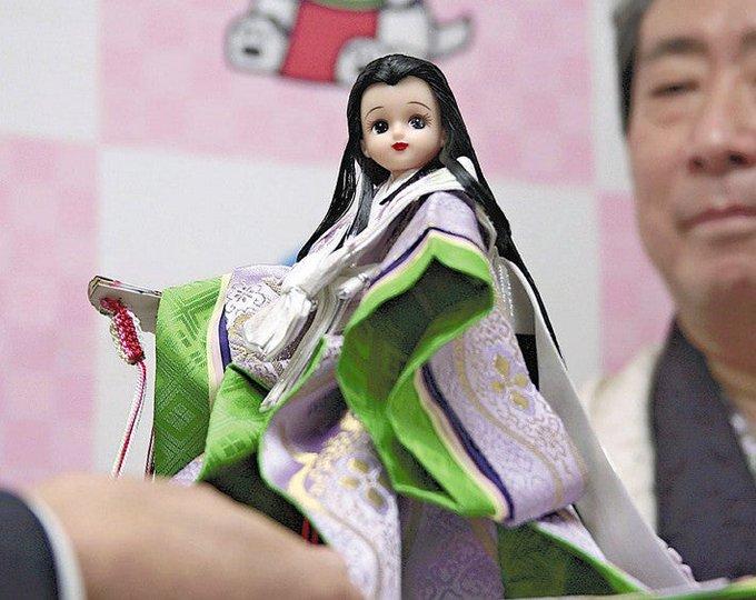 世界にひとつのリカちゃん人形!  …藤を愛した「熊野御前」をテーマに…磐田市…