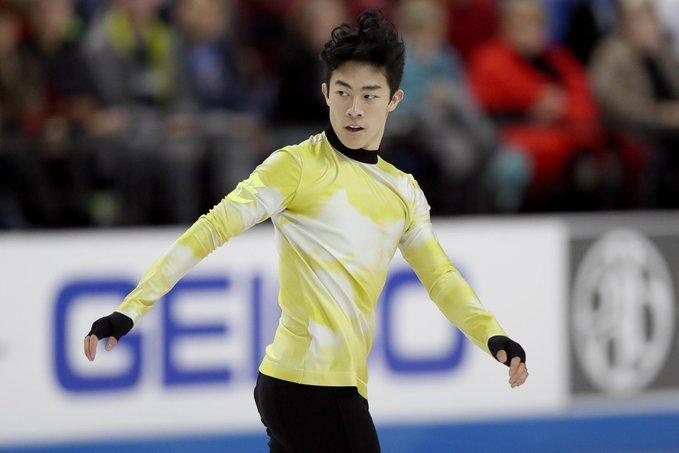 """【映像有】ネイサン・チェンの""""キレキレ氷上ダンス""""が話題!  …「史上最高のステップだ!」「間違いなく今年最高の振り付け!」と大絶賛。…"""