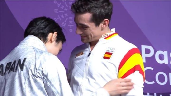 ハビ「自分がメダルを獲った事に、自分でも家族でもなく、いちばん泣いたのはユヅル」!