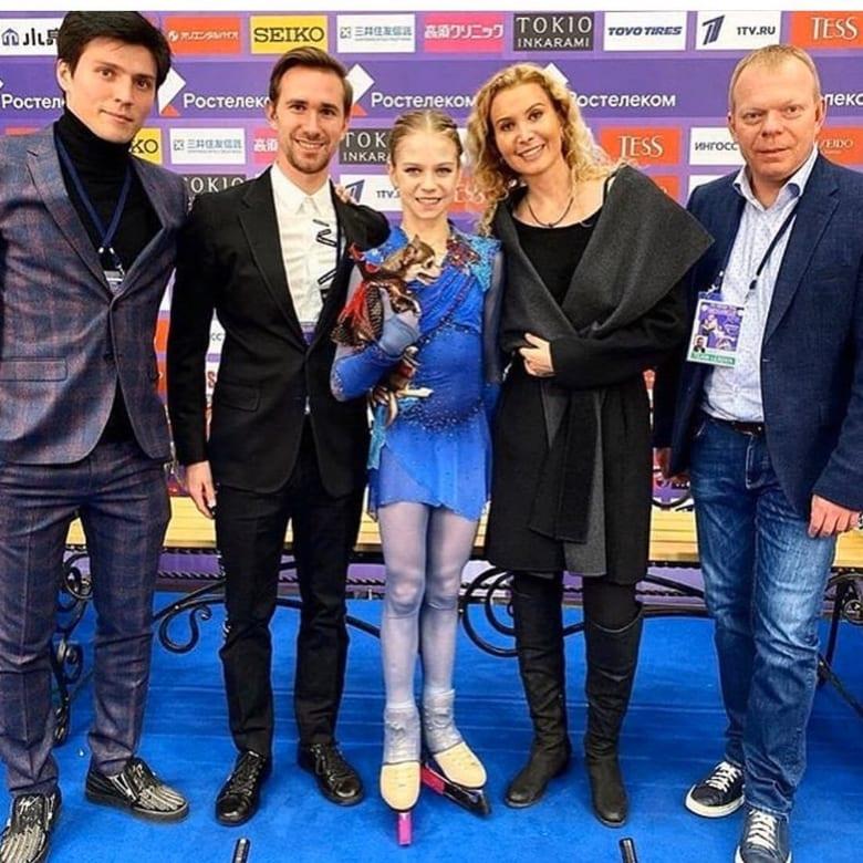 アレクサンドラ・トルソワがコーチ変更!  …エフゲニー・プルシェンコの門下生に…