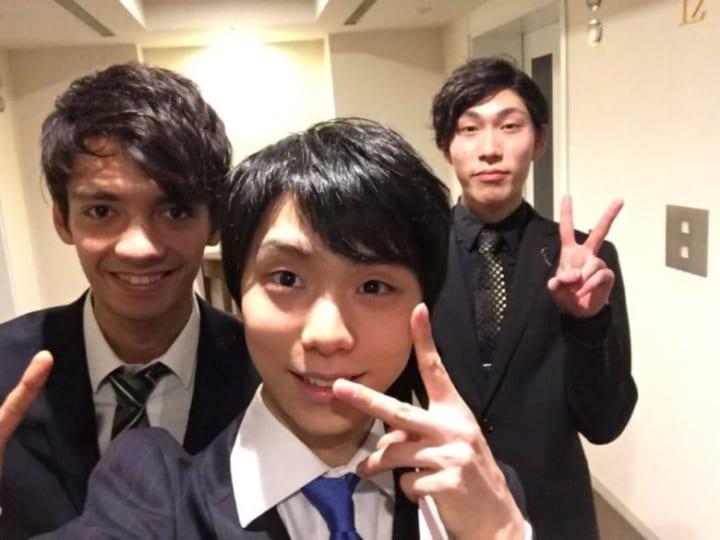 僕じゃ駄目?  …「NHK杯で三人揃って嬉しそうなゆづ!」「可愛い羽生とカッコいい羽生とS羽生」…