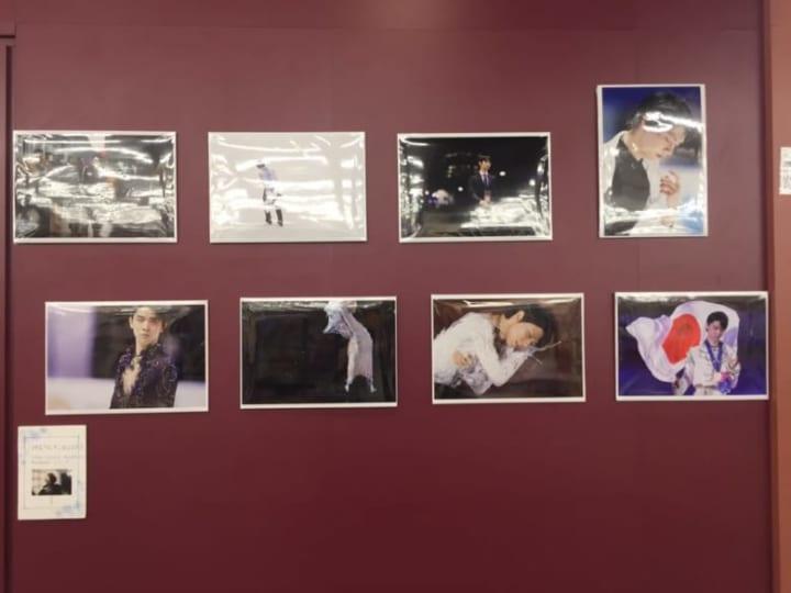 紀伊國書店に矢口さんが撮影された羽生くんのお写真が!  …「夜様」「通る度に幸せ感じる!」…