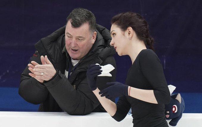 【映像有】メドベージェワが遠隔トレーニングの様子を動画公開!  …モスクワとトロント…