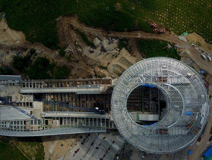2022年北京冬季五輪会場の建設現場を訪ねて