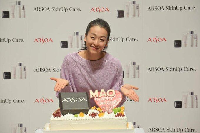 浅田真央、一足早い誕生日祝いに大喜び!  …「30歳の0は新たな出発の意味」と抱負…