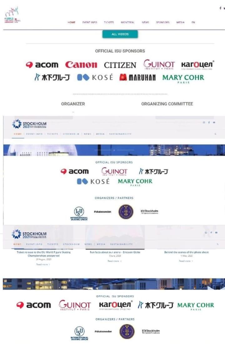 KOSEもワールドスポンサー一覧から消えてる!  …「ロシアの製薬会社が入った 」「中国やアメリカ企業はなぜない」…