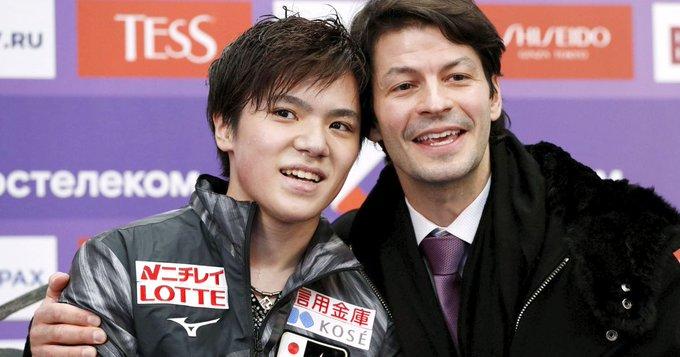 """宇野昌磨とランビエールの""""絆""""に見る、フィギュア選手とコーチの特別で濃密な関係!"""
