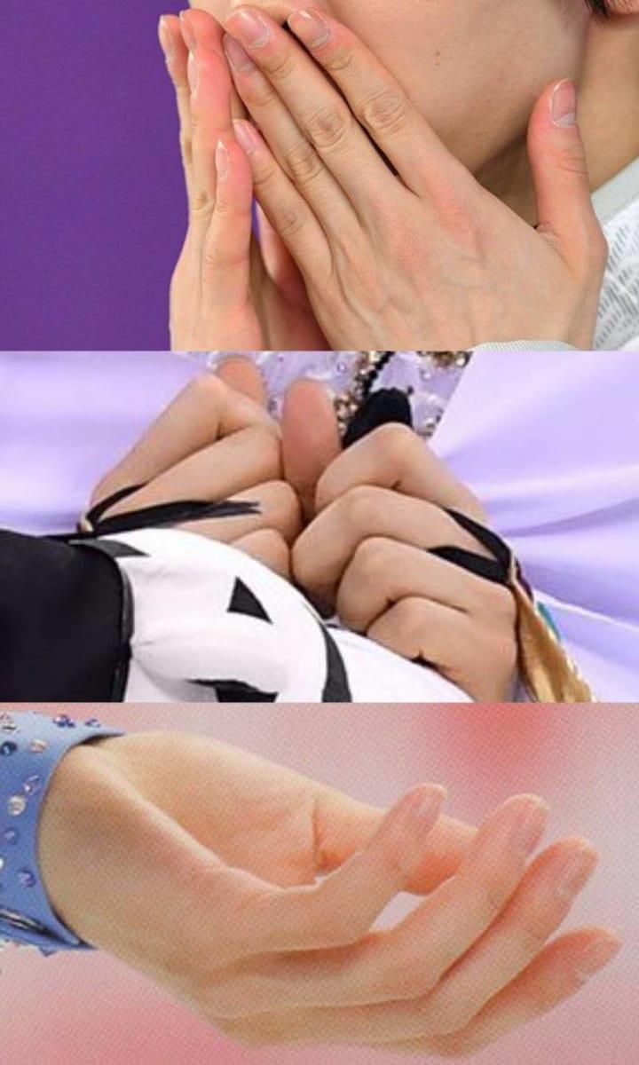 羽生の手はふわふわで華奢で握力強い!  …「指長くて綺麗だよなあ」「やっぱり背徳感あるこの手」…