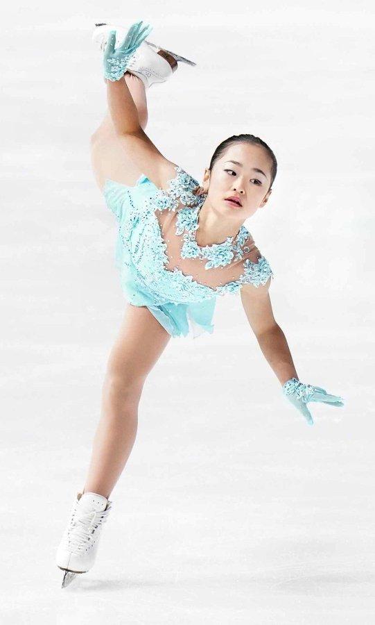 12歳島田麻央が安藤美姫以来20年ぶり表彰台!  …「ビックリとうれしい」「憧れは浅田真央さん」…