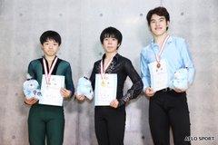 佐藤駿が合計229・18点で優勝!  …鍵山優真が合計212・32点で2位 東日本男子…