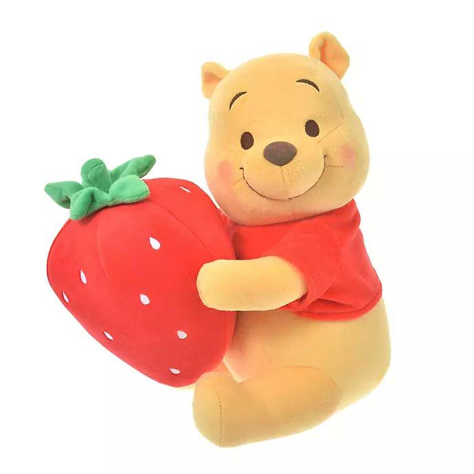 いちごシリーズ 、12月28日 shopDisney  先行発売!  …「プーさん頰赤いw」「めちゃカワイイ」…