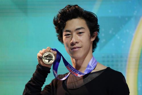 チェン感激、五輪2連覇の伝説バトン氏以来の5連覇
