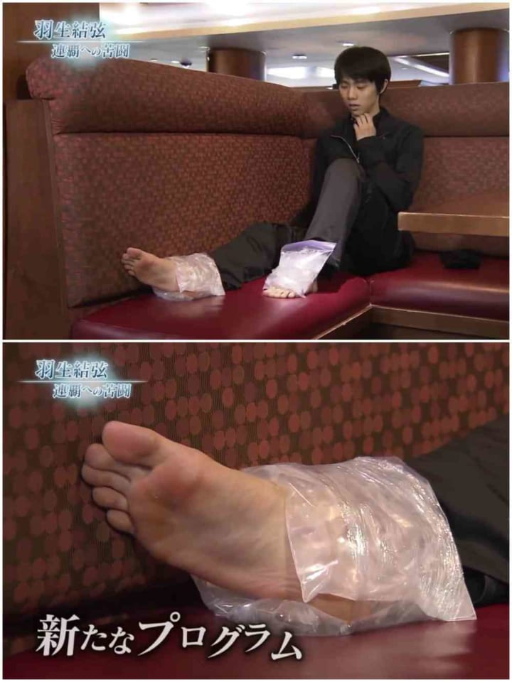 流石一流アスリート!  …「土踏まずの筋肉すごっ」「足の指が細長くて羨ましい」…