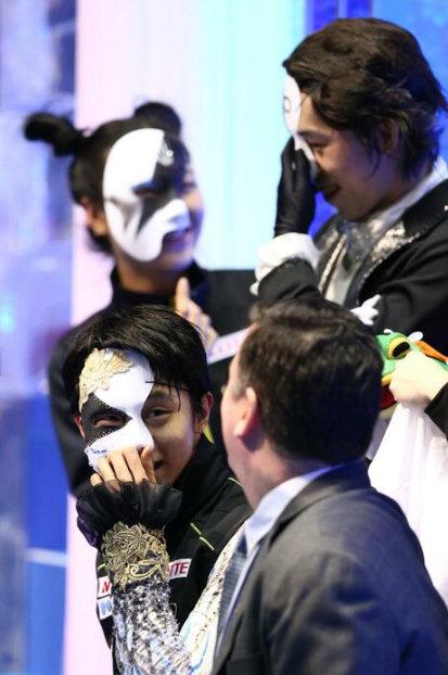 ユヅントム!  …「仮面でもカッコいい 」「佳菜子もムラさんも一緒」…