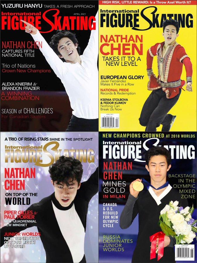 IFSマガジン、ネイサン・チェンが4度目の表紙に!