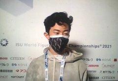 【世界フィギア2021】火曜の公式練習後ネイサンに聞いてみた!  …3月24日 ネイサン・チェン選手 FSランスルーアップ…