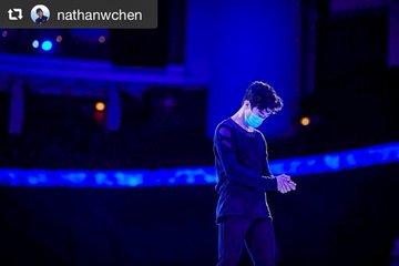 ネイサン・チェン、ファンへメッセージ!  ……「スウェーデンで開催された世界選手権に出場する機会をいただいてとても感謝しています」