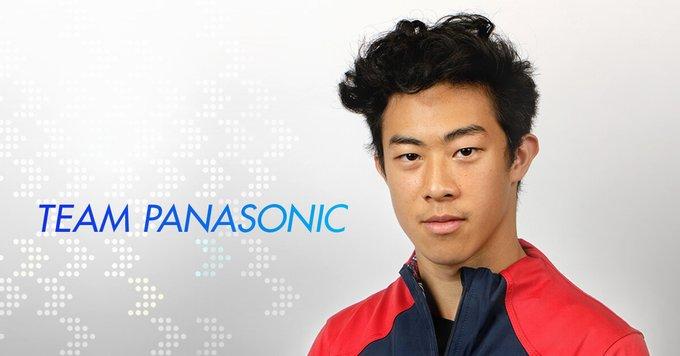 【ネイサン・チェン選手】がパナソニックのチームメンバーに加わりました!