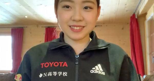 """紀平""""JK最後""""の世界選手権 金で新たな門出を自ら祝う"""