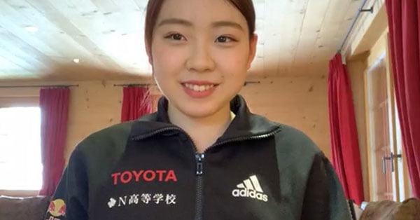 紀平梨花がスイスから近況報告 孤独練習からチームと合流「すごい感動しました!」