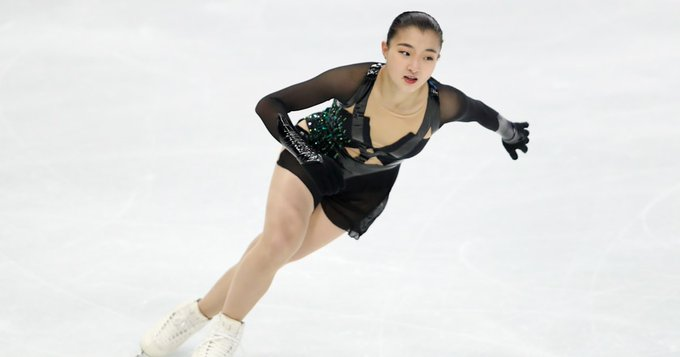 世界国別対抗戦 女子FS、坂本花織が自己ベスト更新で2位、紀平梨花は5位