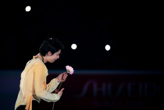 花は咲く・羽生結弦【アフロスポーツ プロの瞬撮】